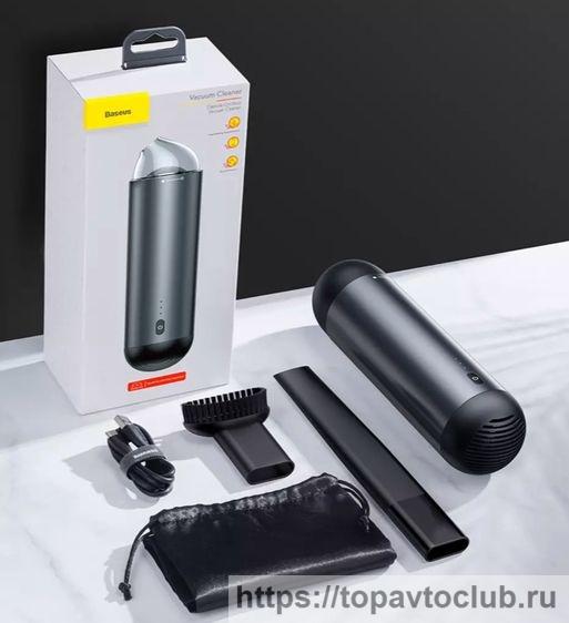 Аккумуляторный пылесос для автомобиля Baseus 65WCapsule