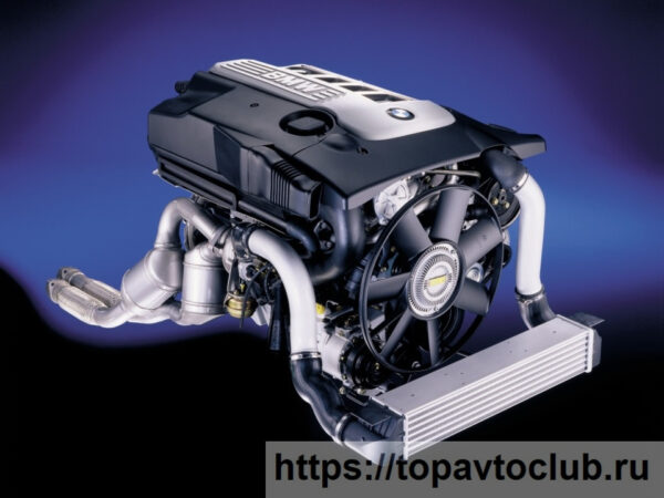 Двигатель БМВ M57