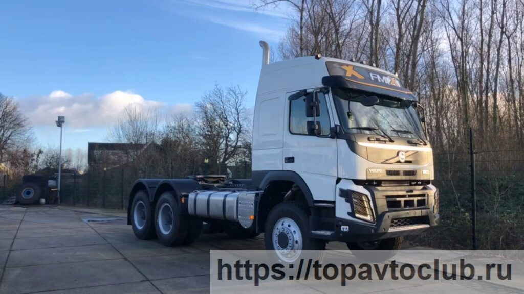 Volvo FMX 540 6x6