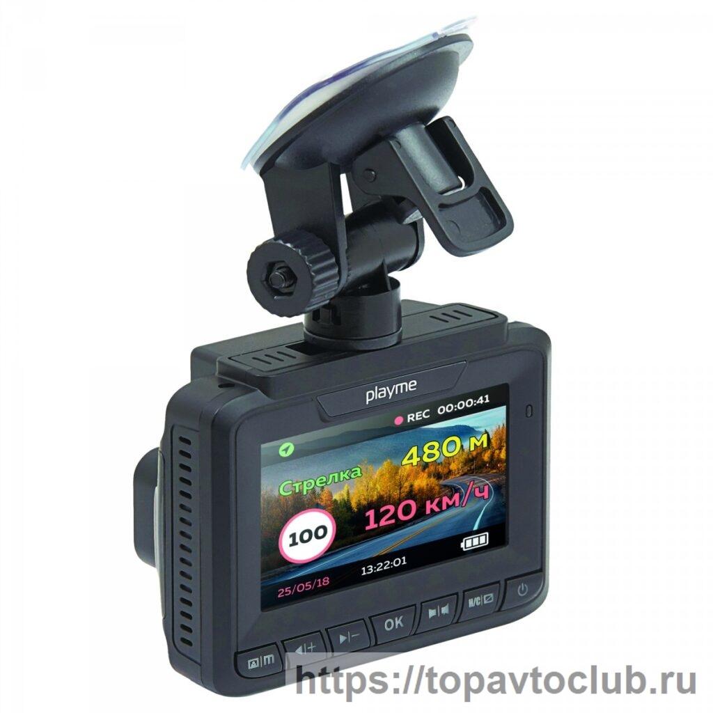 """антирадар и регистратор 2 в 1 """"Playme VEGA"""""""
