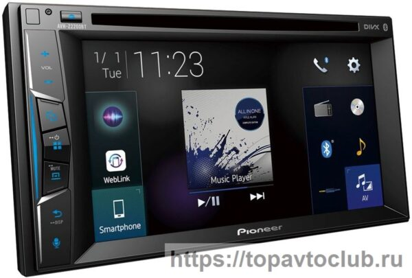 Pioneer AVH-Z2200BT Android Auto